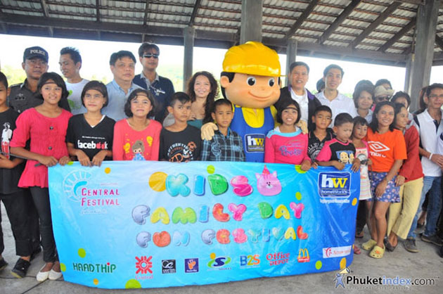 Central Festival Phuket Kids & Family Day Fun Fest 2012