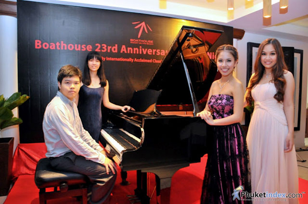Boathouse Phuket Celebrates 23rd Anniversary by Honouring the Arts with Special Concert