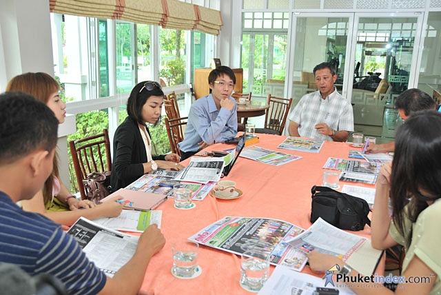 Press Conference Phuket Life & Drive 2012