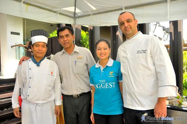 Sunday Brunch at Maikhao Dream Resort & Spa Natai Phang Nga