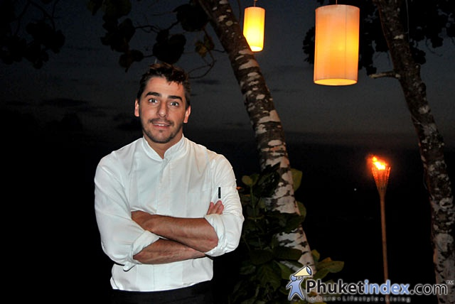 Chef Jordi Roca at Trisara Resort Phuket