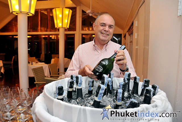 Laurent-Perrier Champagne Dinner at Mom Tri's Villa Royale