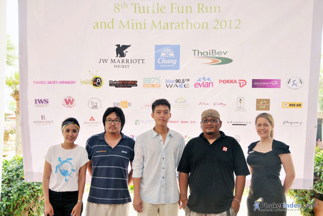 8th Turtle Fun Run 2012 and Brunch Charity by JW Marriott Phuket