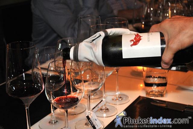 Gaja wine tasting @ Acqua restaurant