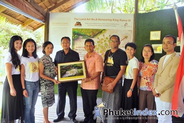 Official Opening Ceremony of Land Art No 8 @ At Panta Phuket