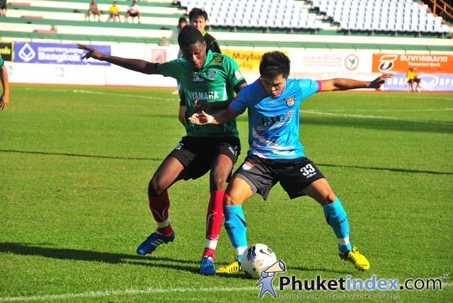 Phuket FC V JW Rangsit – 27 October 2012