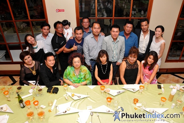 East Meets West Wine Dinner Party at Baan Kalim Restaurant