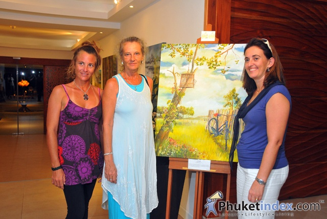 Phuket's Boathouse Presents an Exhibition of Robin Gillow's Contemplative Oils