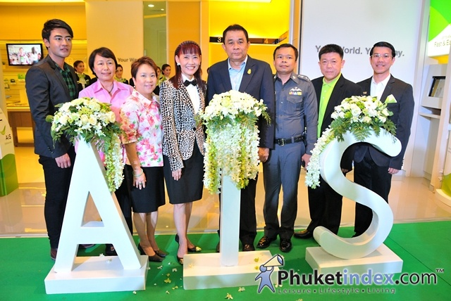 Grand Opening AIS Shop at Central Festival Phuket