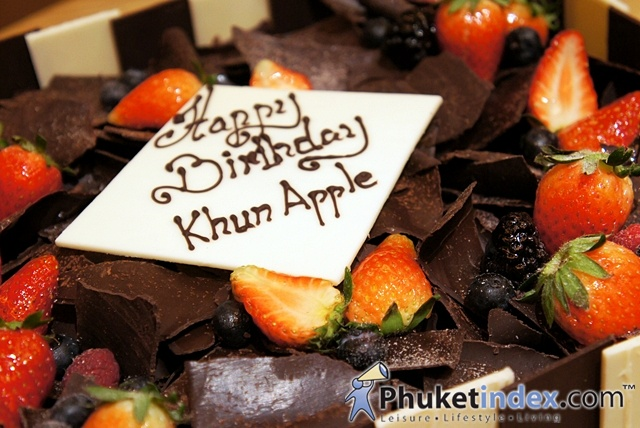 Private Birthday Party for Khun Natthakanya (Apple) Saengpho (CEO Paradise Group)