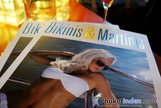 "Launch Party of ""Bikinis & Martinis"" Magazine at Oriental Spoon Twinpalms"