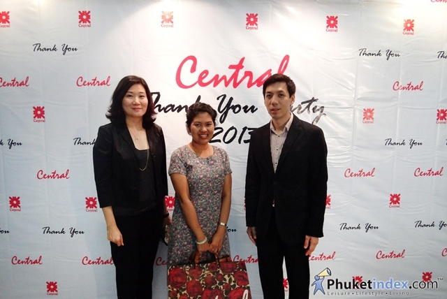 Central Phuket Thank You Party 2013