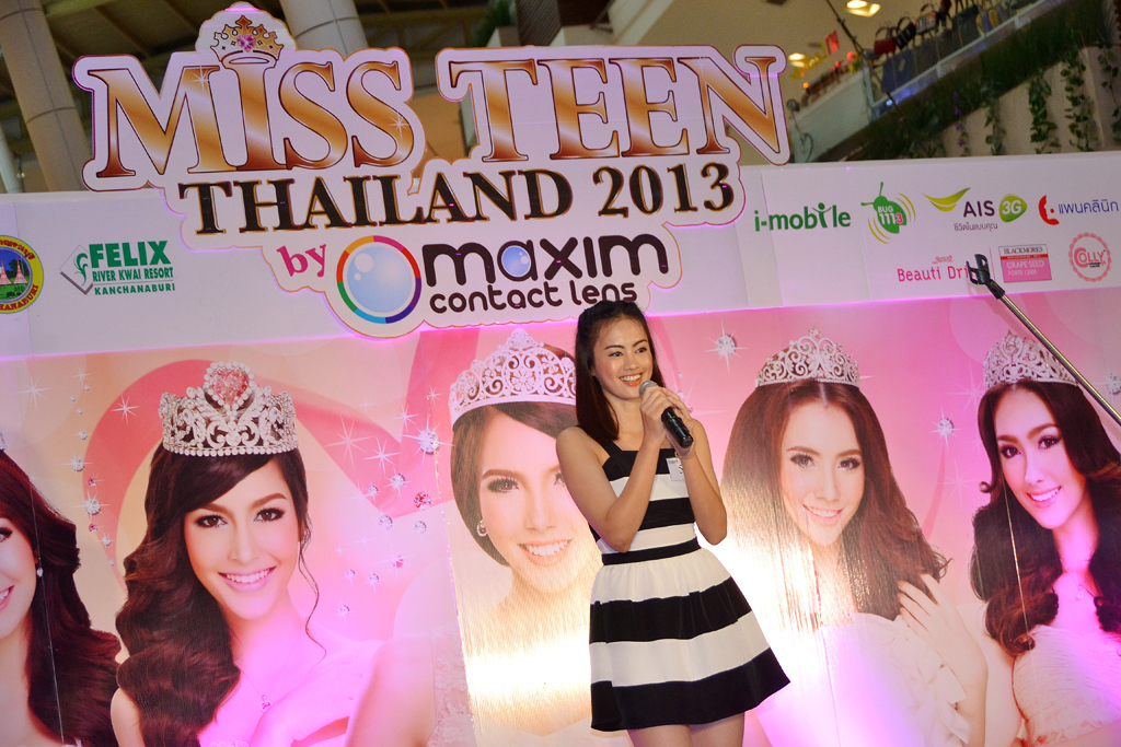 Miss Teen Thailand 2013 Audition @ Central Festival Phuket
