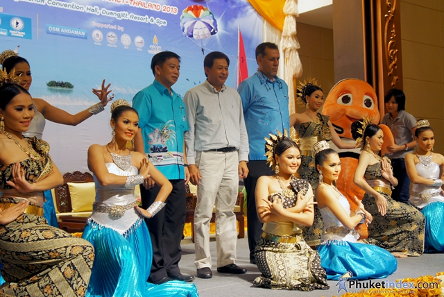 "Press conference for ""6th Andaman Travel Trade Show 2013"""