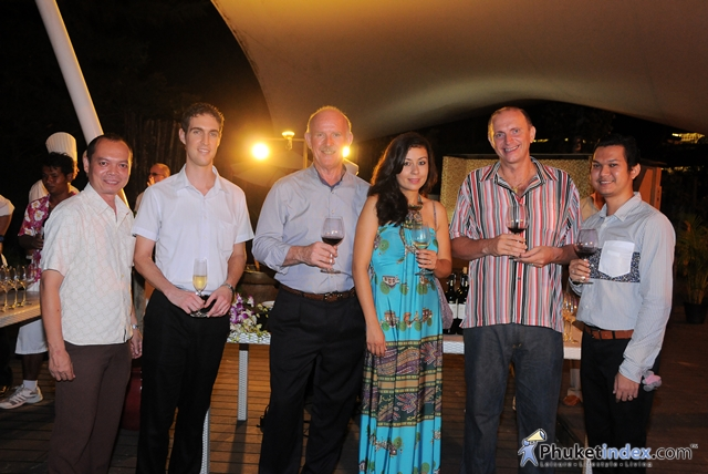 Hardys Winery Cocktail Party at Centara Grand Beach Resort Phuket