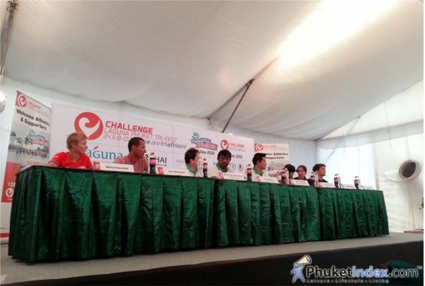 Press Conference The 20th Laguna Phuket Triatlon