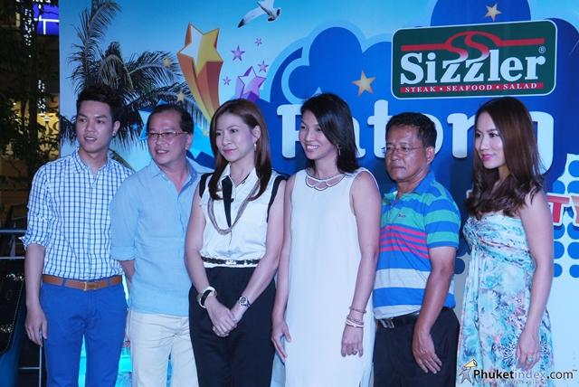 Sizzler Patong Bossa Beach Party at Banana Walk Patong