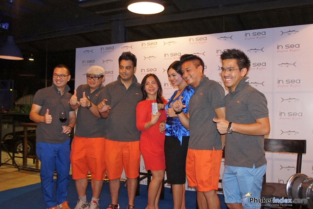 Grand Opening of 'In Sea' Seafood Buffet