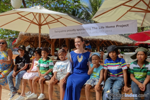 BIMI Beach Club's charity Children's Day event