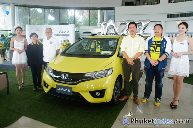 Anuphas Honda launches 2014 All New Honda Jazz