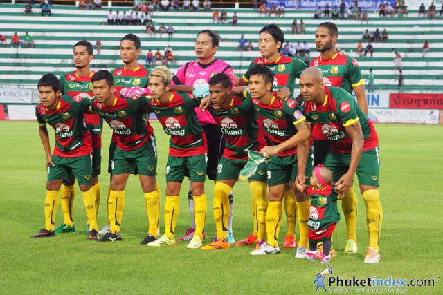 Phuket FC Vs Bangkok Glass FC