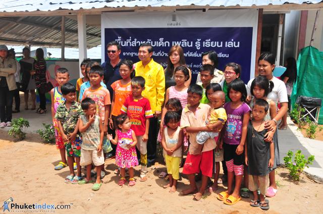 Sansiri opens Child-Friendly Space at Baan Maikhao