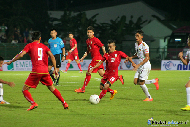 Thailand Vs Myanmar ASEAN Games warm up