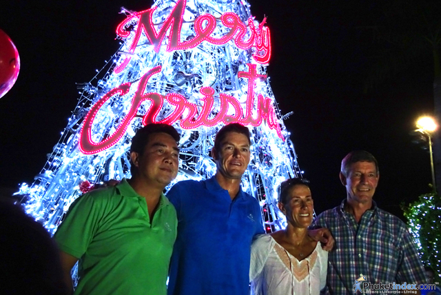 Christmas Lighting Ceremony at Thanyapura Phuket
