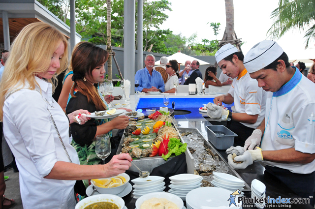 Grand Opening of Palm Seafood by Twinpalms Phuket