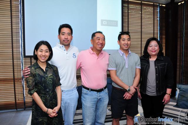 Charn Issara Group held a press conference at Sri panwa Phuket