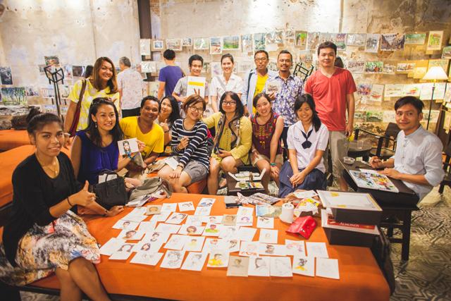 Phuket Old Town Sketchwalk 2015