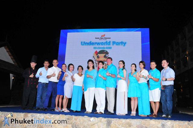 "Kata Sea Breeze Open House ""Underworld Party"""