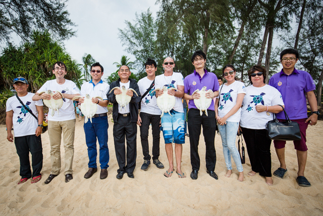 6th Turtle Release Event 2015