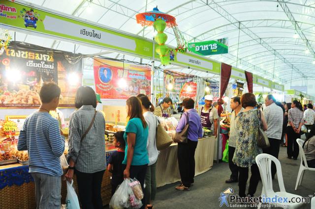 OTOP Festival 2015at Sapan Hin Park Phuket