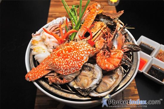 Seafood basket baan talay angsana laguna phuket for Andaman healthy thai cuisine