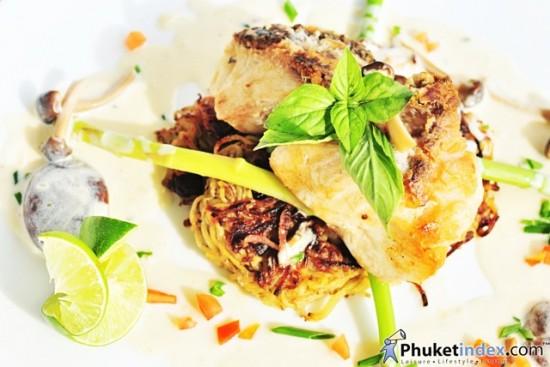 Waterfront Restaurant Mediterranean Menu at IndoChine Resort & Villas Phuket