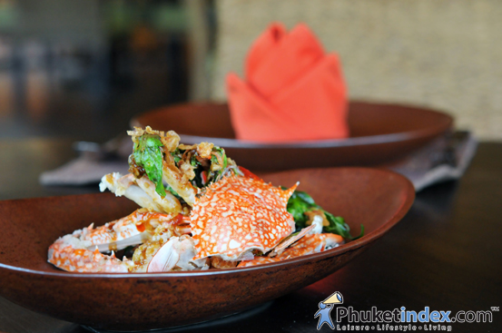 Blue Crab Promotion at Takieng Restaurant, Renaissance Phuket Resort & Spa