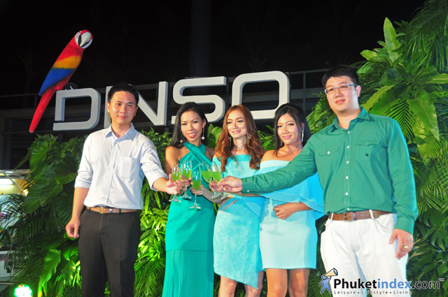 Dinso Residence launching party at Banana Walk Phuket