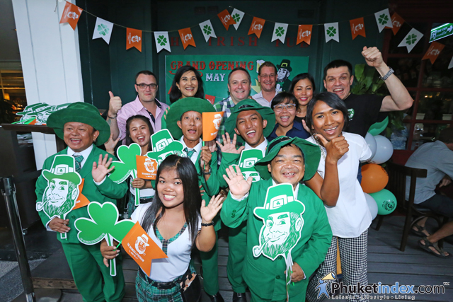 """Grand Opening Party of """"The Drunken Leprechaun"""" at DusitD2 Phuket Resort"""