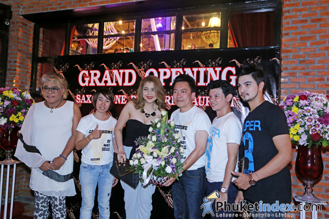 Grand Opening Saxophone Pub & Restaurant in Phuket Town