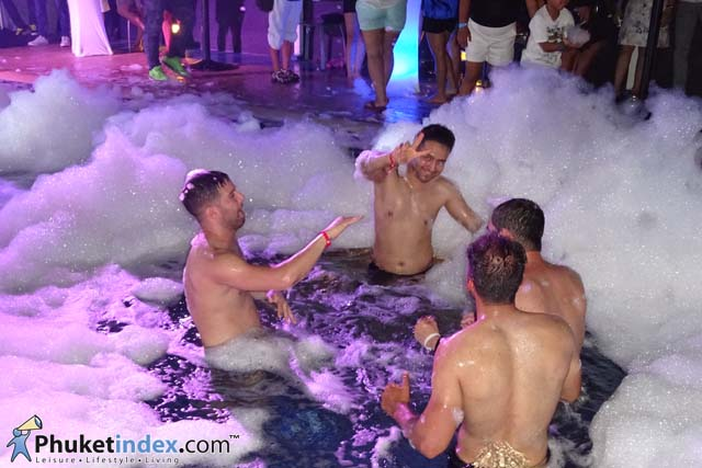 Sexy Foam Party at Centra Ashlee Hotel Patong