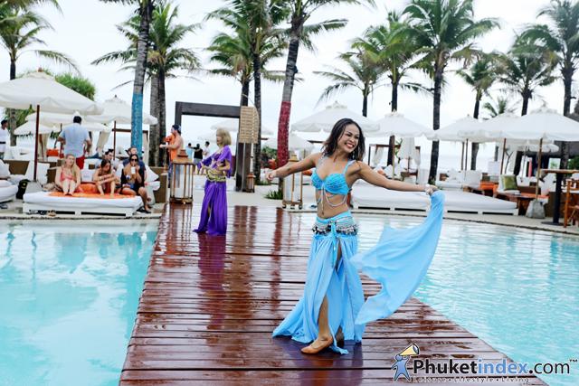 Amazing sunday brunch at Nikki Beach Resort and Spa Phuket