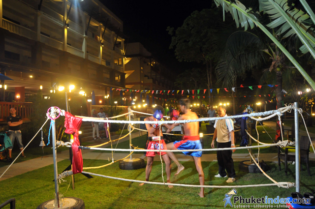 Kata Sea Breeze Temple Fair at Kata Sea Breeze Resort Phuket
