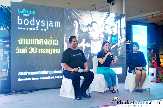 "Phuket Ready for ""Laguna Phuket presents Bodyslam Charity Concert 2015"""