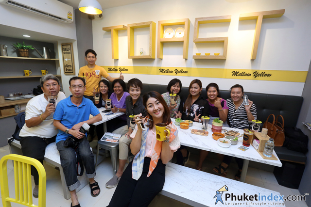 Mellow Yellow Toast & Bistro's grand opening in Phuket Town