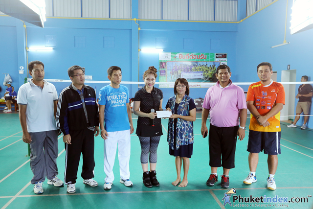 Phuket hotelier badminton cup 2015 by Andara sport club
