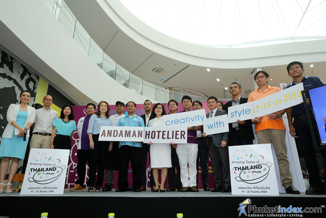 """Andaman Hotelier 2015"" Press Conference at Limelight Avenue Phuket Town"