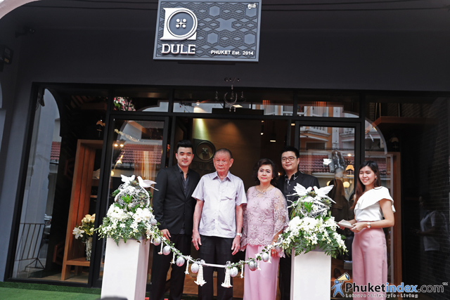 Grand Opening Dule' Shop in Phuket Town
