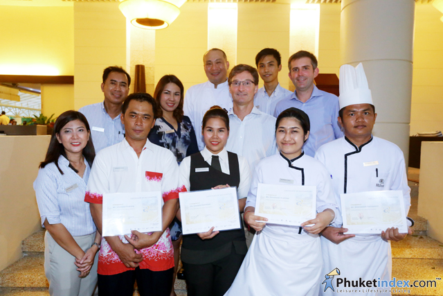 Hilton Phuket Arcadia Resort & Spa Presented F&B showcasing talents