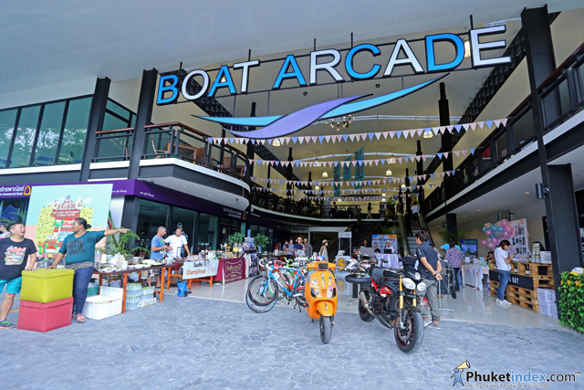 East Meets West Garage Sale at Boat Arcade, Boat Lagoon Phuket
